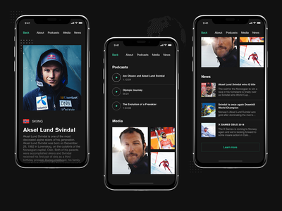 Living Beyond The Possible (part 2) sport app sport olympic games olympian norway ski racing red bull redbull extreme sports extreme sport extreme ski diving cliff diving black design energy drink
