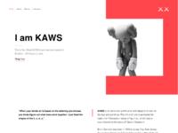 Kaws website l1