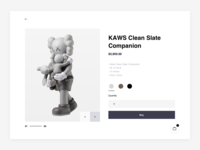 KAWS — Online store (Product)