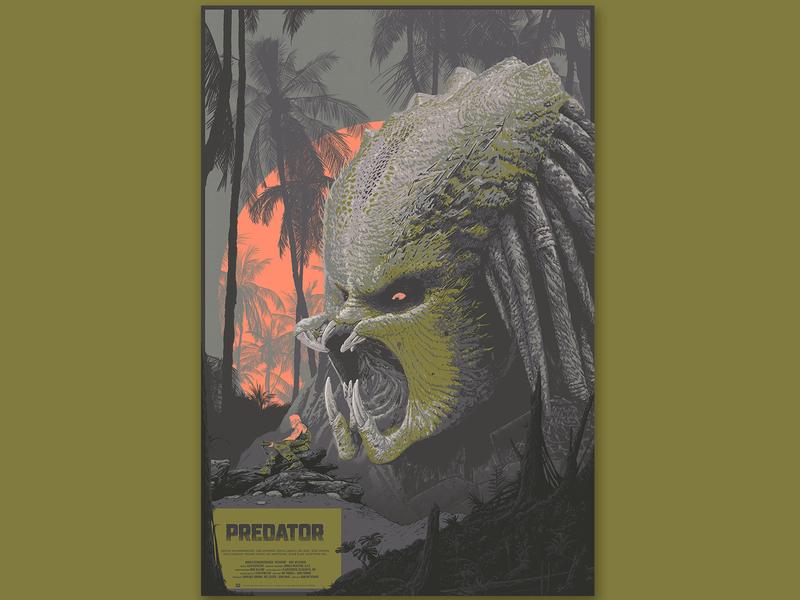 Predatordribb sci-fi forest militar tree jungle sun soldier monster predator