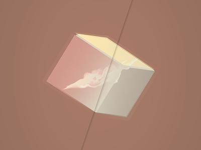 Indesign Art: 'Cubic' poster minimal geometric cubic square design graphic cube art indesign