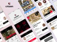 CitizenM App Concept