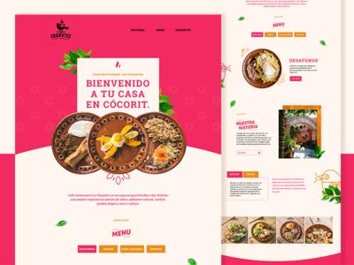Web design:  Los Chanates