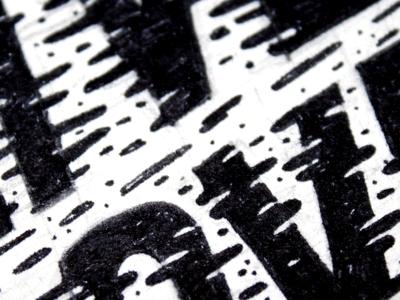 Lettering texture