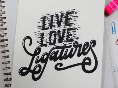 Live love ligatures!