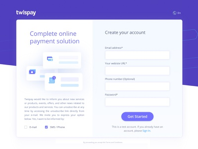 Sign Up - Payment gateway clear design clean ui dashboard design dashboard ui product design create account wireframe design ux design ui design uiux sign in sign up