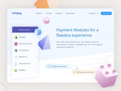 Payment Gateway - Modules vector credit card payment product designer prestashop shopify product design ui  ux digital agency graphic design payment page payment gateway payment method website design web design