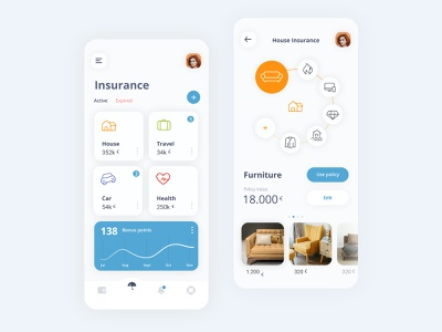 Insurance Wallet ux research home insurance emoney ewallet designer portfolio product design saas design saas app uxdesign uidesign uiux ui insurance app