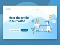 Call Centre Web Design