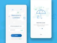 Insurance Wallet - Login Interface