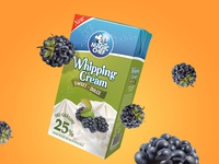Package Design - Whipping Cream