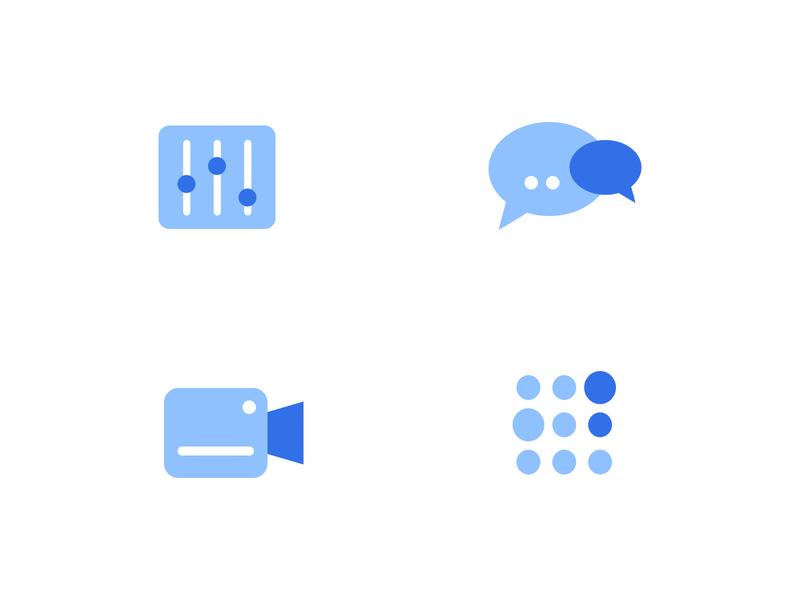 Flat icons - App Design
