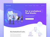Landing page - HR Company