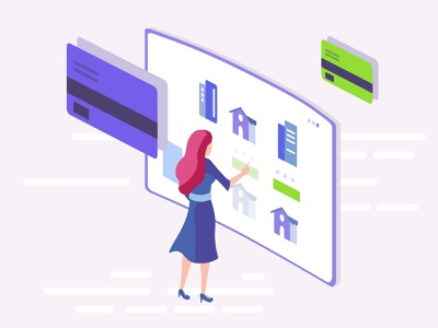Payment Gateway digital illustration real estates real estates platform emoney ewallet clean ui ux design ui design online payments banking app dashboard ui illustration payment gateway clean design e money