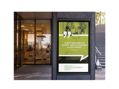 Everyday Insights - Roadshow signage creative direction event design branding design event signage