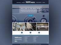 Print Shop Homepage