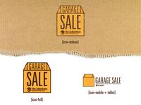Garage Sale Icon
