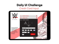 Daily UI // Credit Card Input