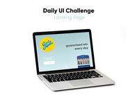 Daily UI // Landing Page