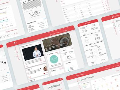 H2 Wellness Whitelabel Platform ios app designer ui design icons user interface design design user interface visual design ui app design web design whitelabel