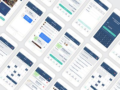 Event Planning App for Friends ux graphic design visual design user interface ui product design app design app events