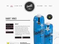 Bandit wine individual design