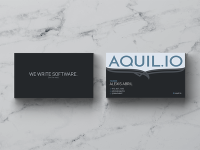 AQUIL.IO Business Card