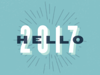 Hello, 2017