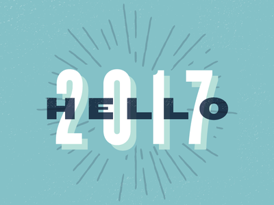 Hello, 2017 resolutions 2017 new year