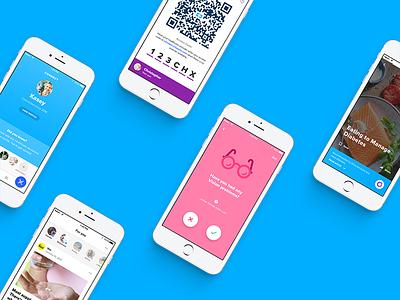 Healthcare mobile app product illustration ios healthcare ui ux mobile app