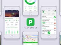 Passenger app - Mileage tracker