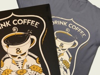 Coffee Rider Shirt and Poster
