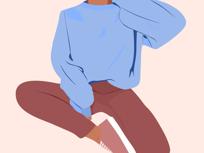 Cozy essentials 👕 cozy sweater illustration vector design sketch inktober2019 inktober october 30daysofdesign 30daychallenge san francisco minimal everlane