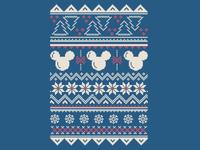 Disney Holiday Pattern