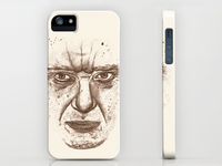 Stern-looking iPhone case
