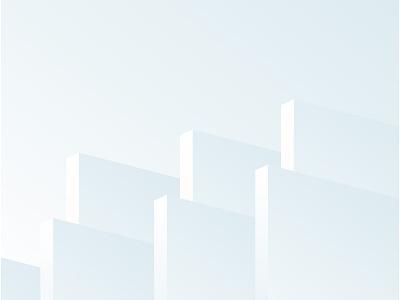 Skyscrapers geometric abstract cityscape city minimal vector illustration minimalism