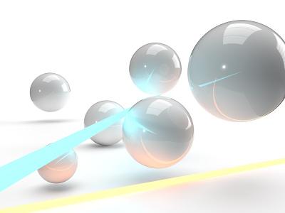 Spheres abstract geometric adobe dimension 3d minimal illustration minimalism
