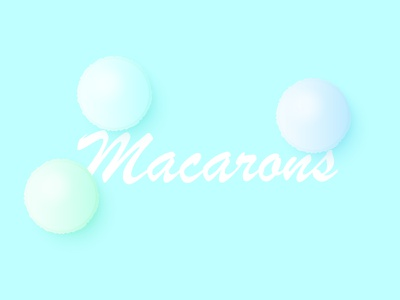 Macarons food pastry macaron illustration minimal vector minimalism