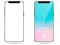 Iphone X mockup for Xd