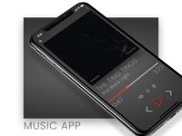 Music App Dark