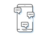 Conversation app icon