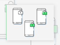 Lock access icons