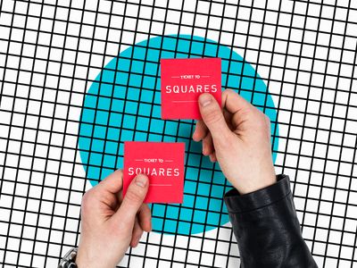 28 Days of Design: Day 26 – Squares Conference Tickets