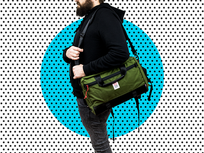 28 Days of Design: Day 21 – Topo Olive Computer Briefcase
