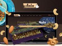 Nuts Web UX - UI design