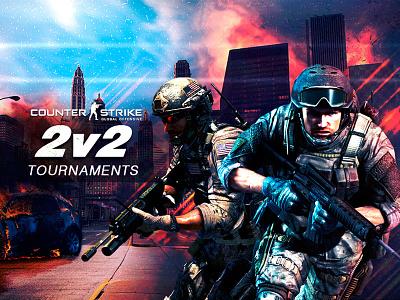 Counter Strike graphic designer illustration