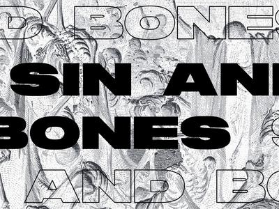 Sermon Graphic - Sin and Bones