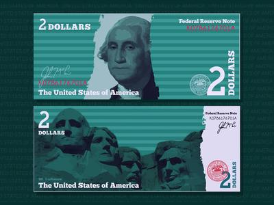 2 Dollar Bill Redesign
