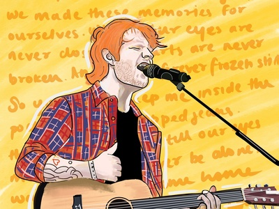 Ed Sheeran Digital Art