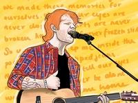 Ed Sheeran Digital Art